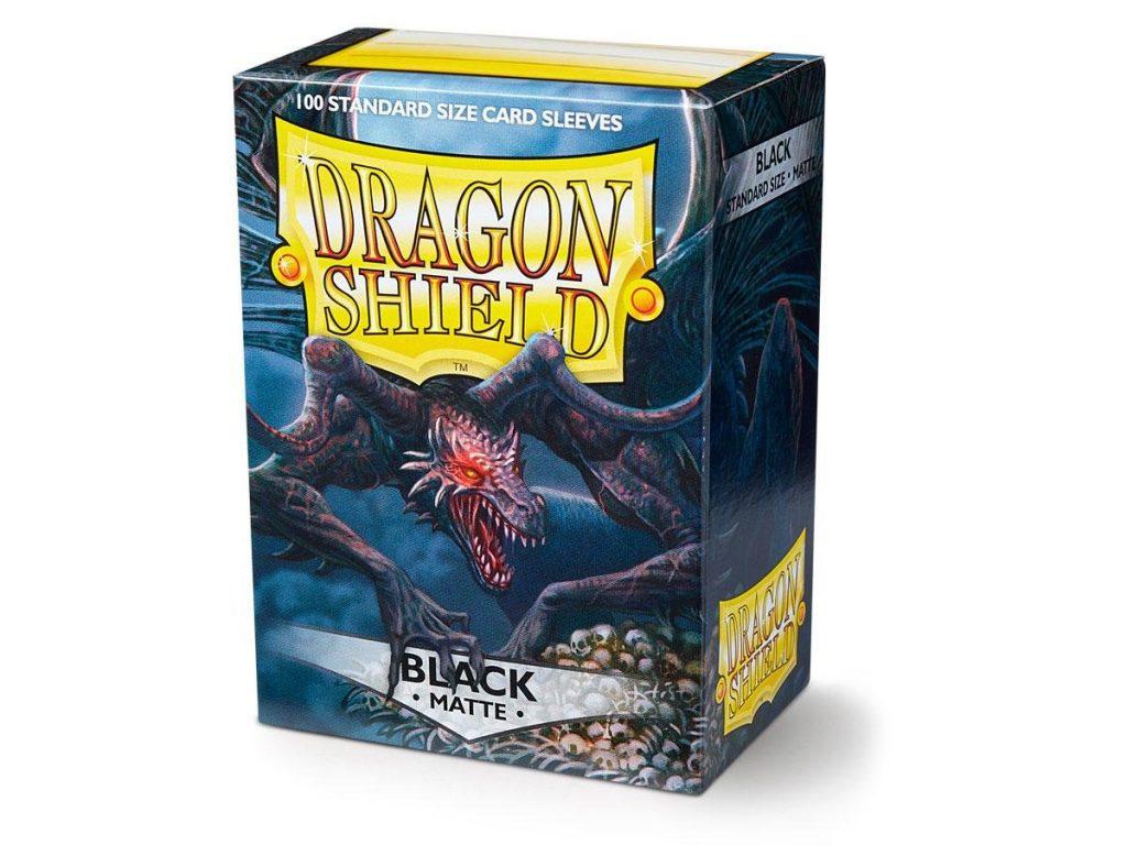 Dragon Shield - Black Matte